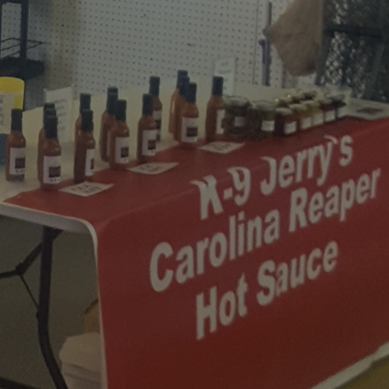 K-9 Jerry's Carolina Reaper Hot Sauce
