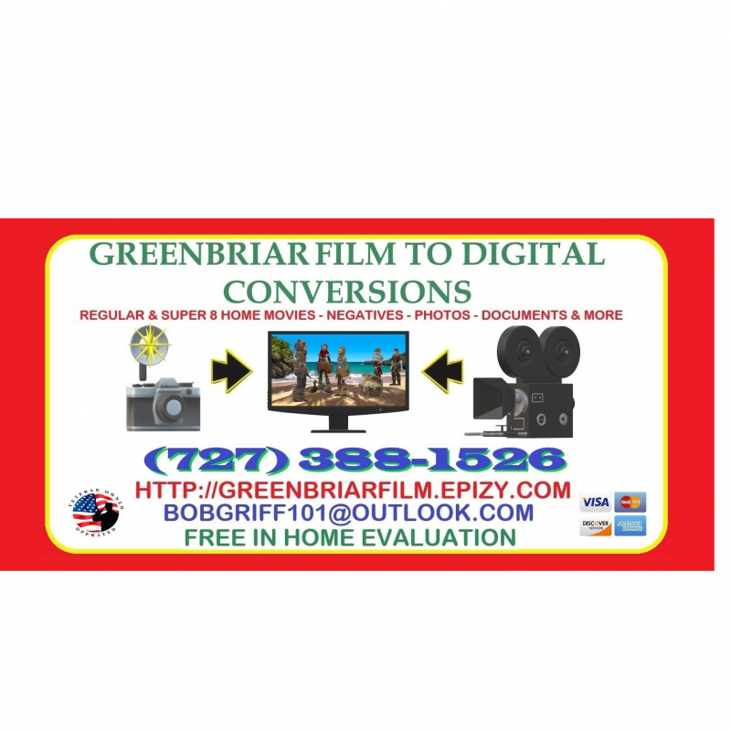 Greenbriar Film To Digital Conversions